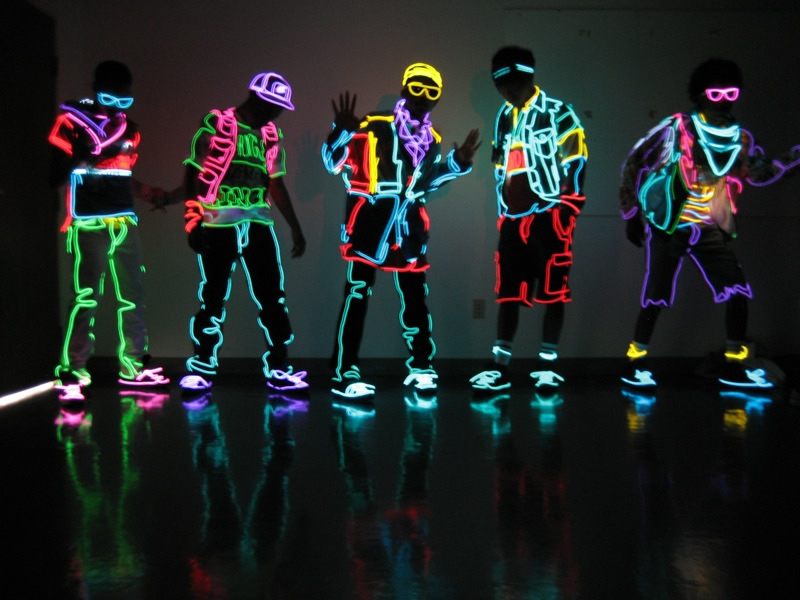 MIA's Lighted Dancers
